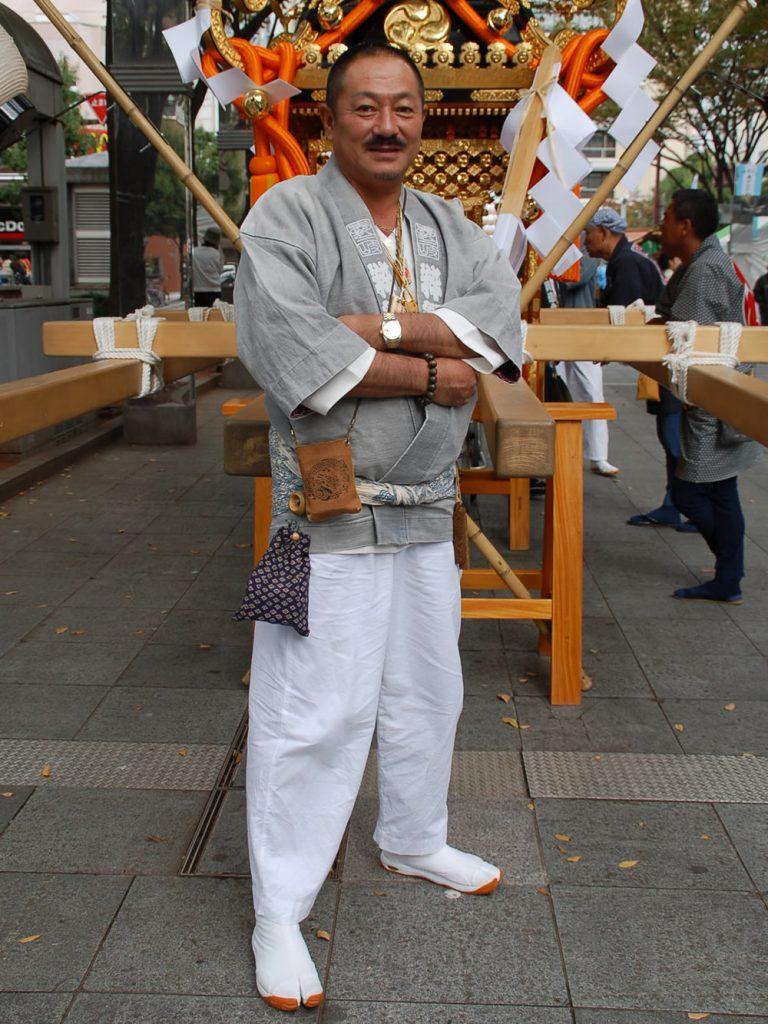 祭り コーディネート 男性