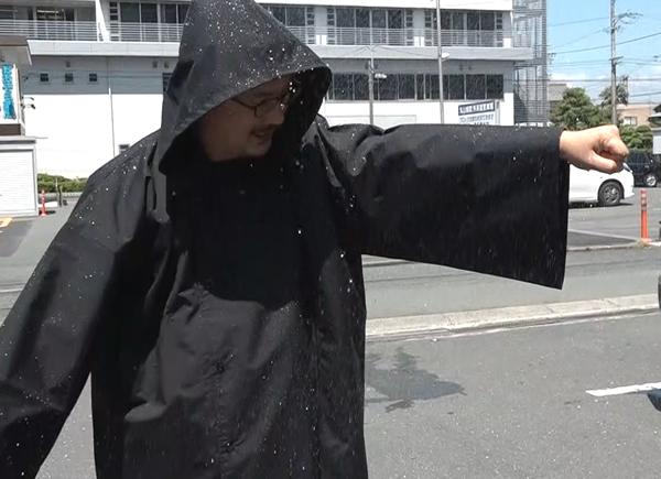 お祭り 雨対策