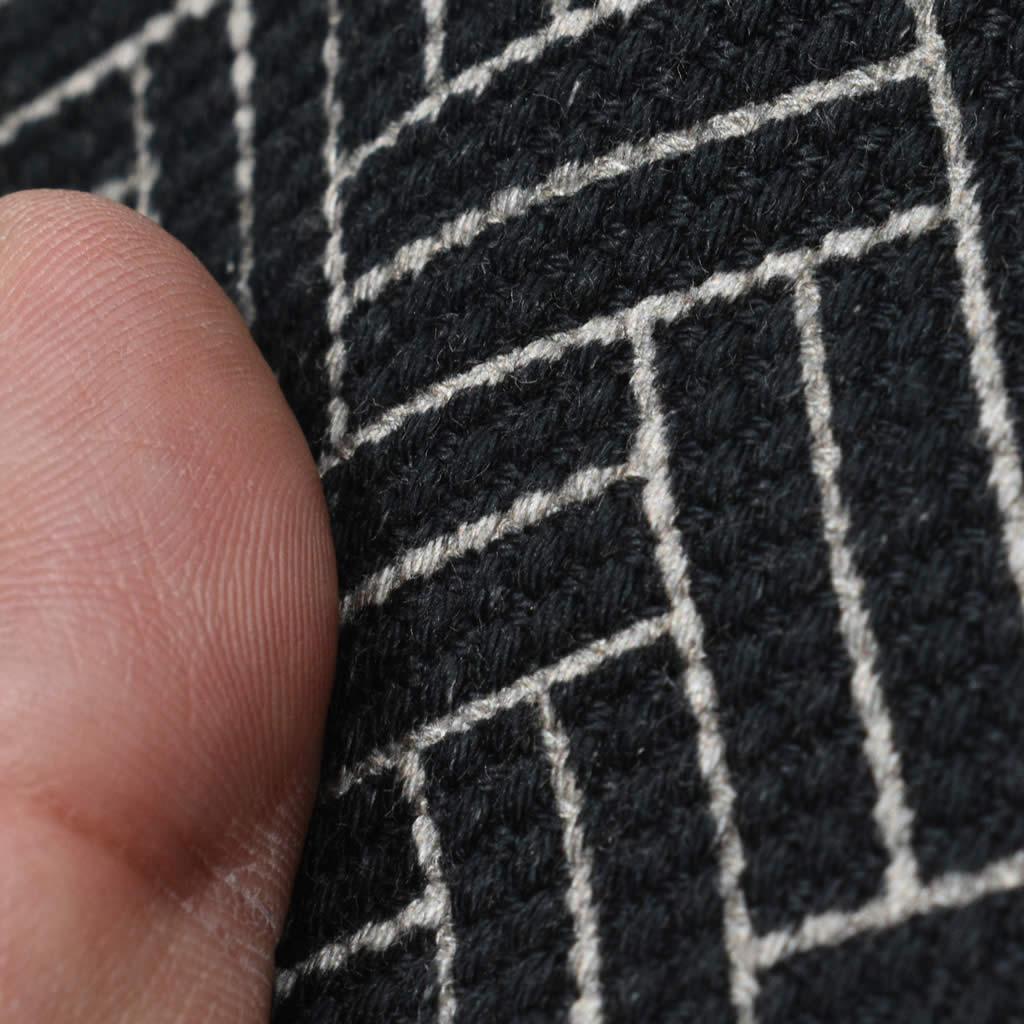 被布コート 刺子 江戸小紋