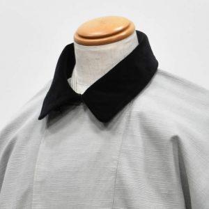 被布コート 別珍 襟