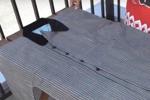 被布コート 被布半纏 たたみ方
