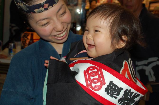 浜松祭り 初子 襷 たすき