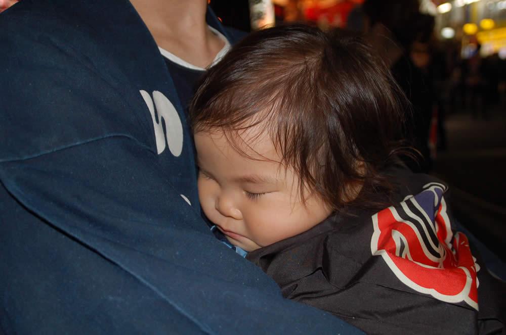 赤ちゃん 祭り衣装