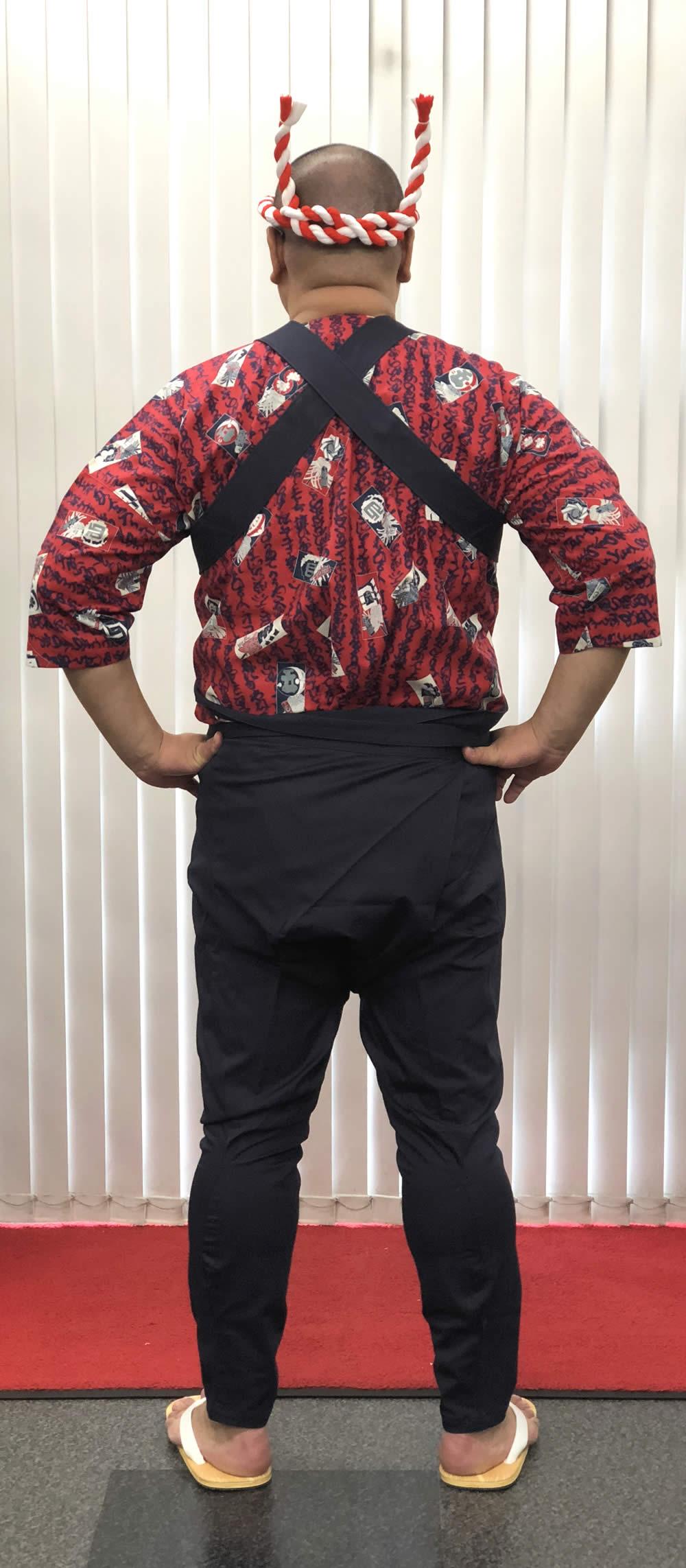 巨漢 祭り衣装 大きいサイズ