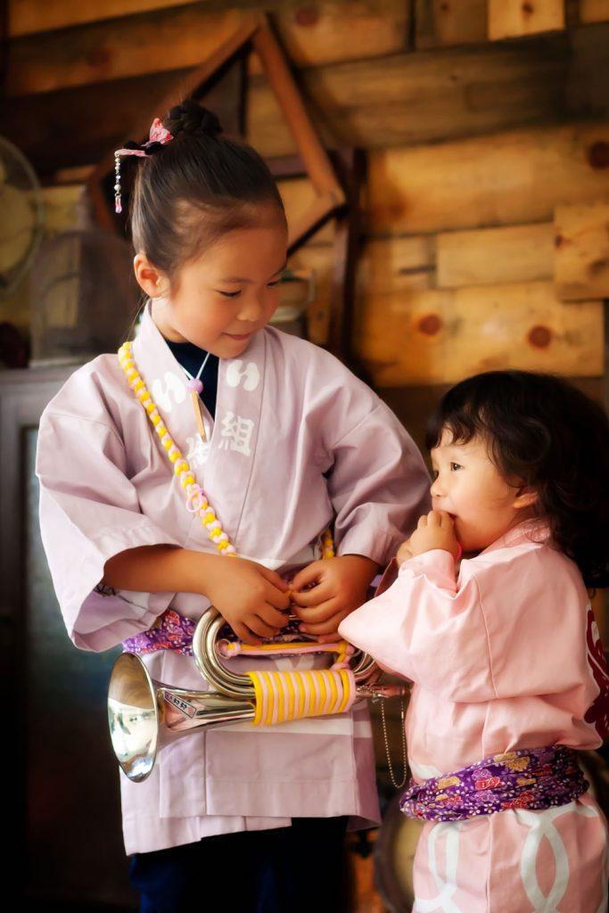 祭りコーディネート 子供