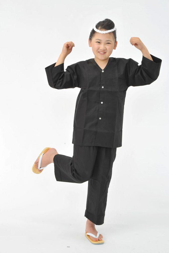 祭りコーデ(黒ダボスタイル)子供