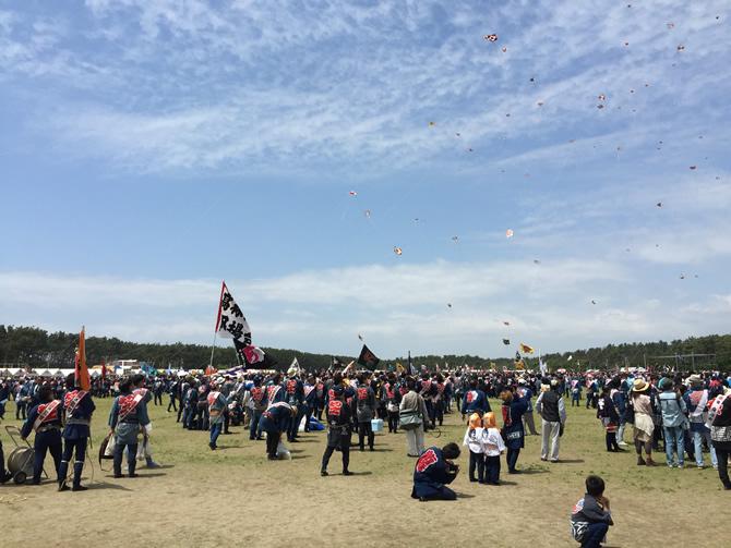 浜松祭り 凧揚げ会場