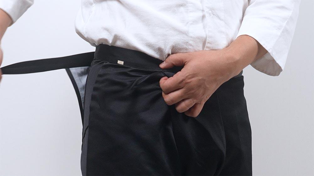 股引の履き方