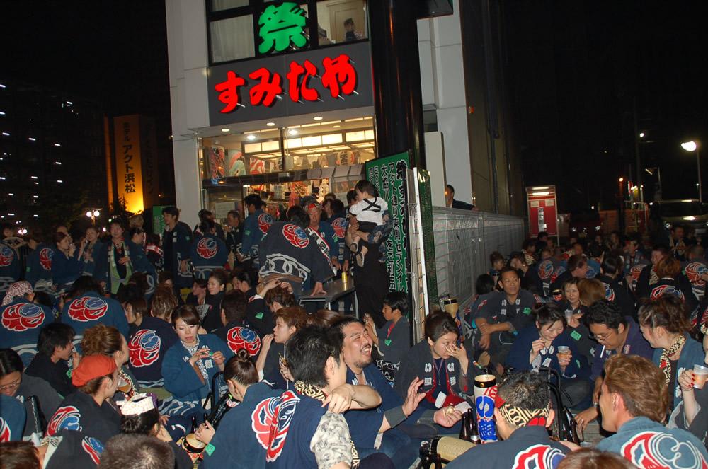 初子 接待 浜松祭り
