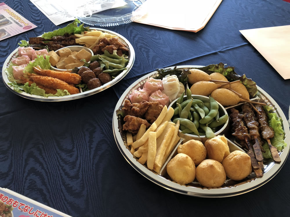 オードブル 浜松祭り 接待 料理