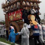 雨の日のお祭り対策