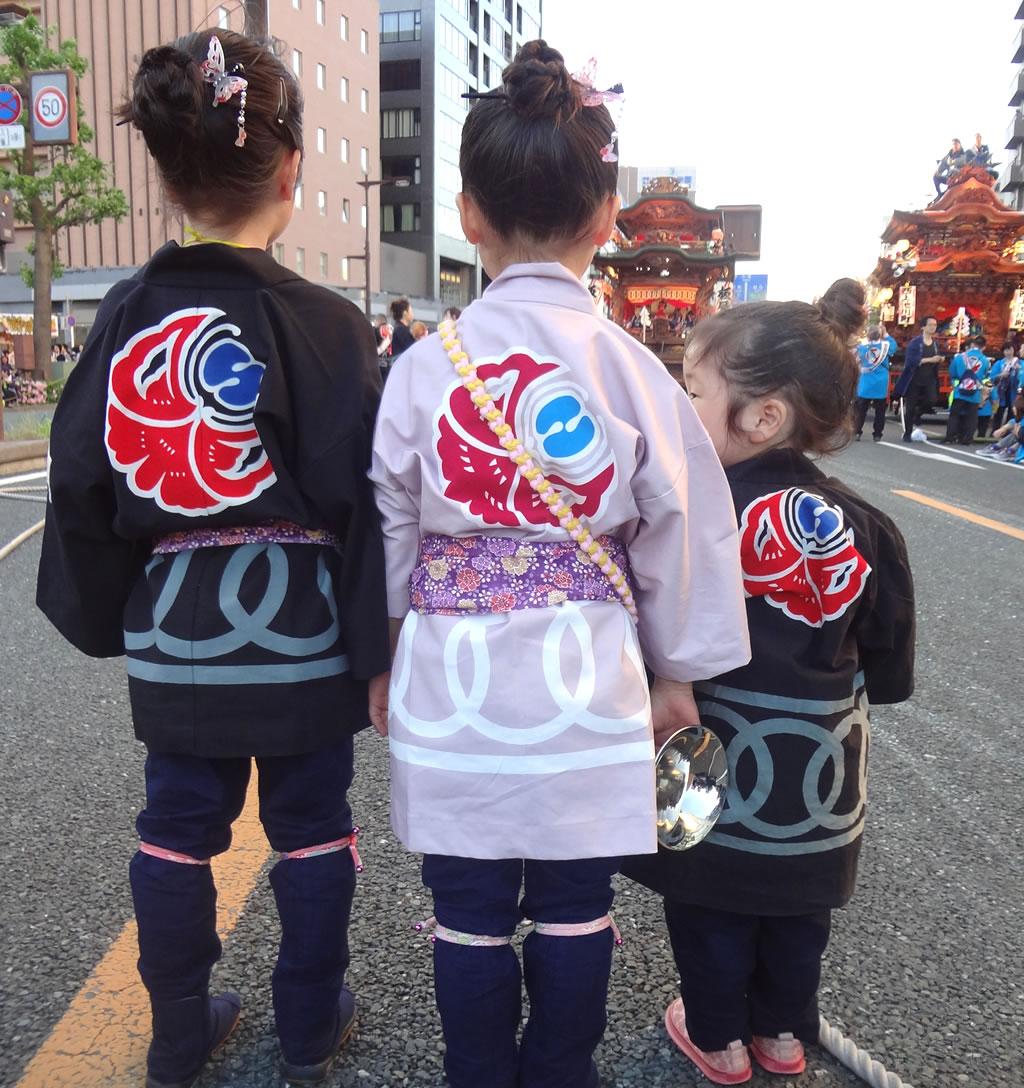 子供 祭り 衣装 コーディネート