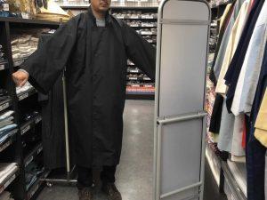 被布コート 試着 サイズ