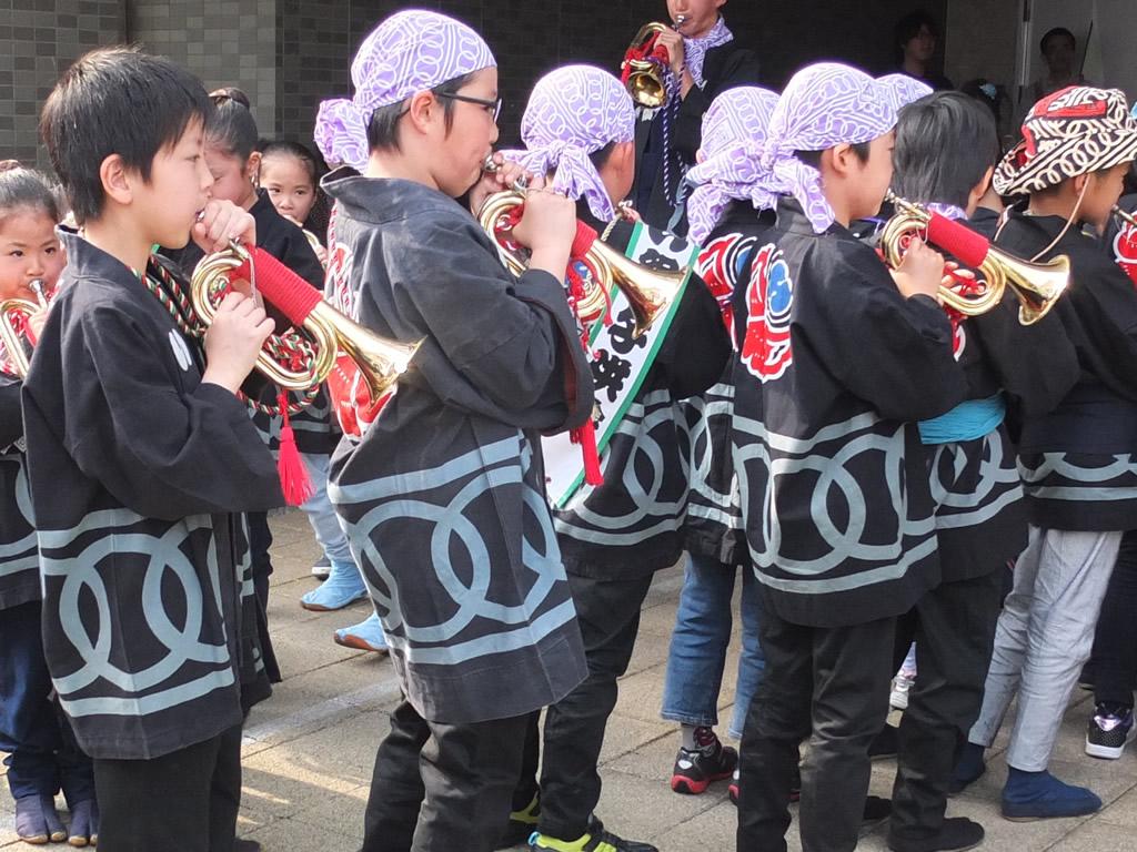 信号ラッパ 浜松祭り 種類