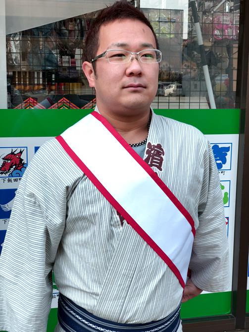 赤たすき 浜松祭り