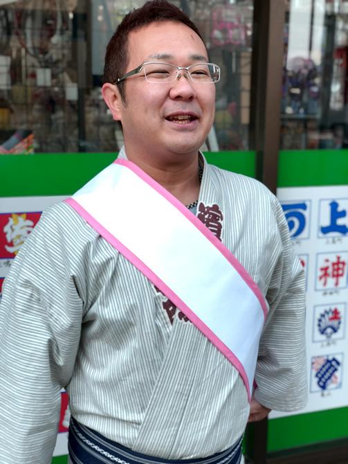浜松祭り 襷 たすき ピンクたすき