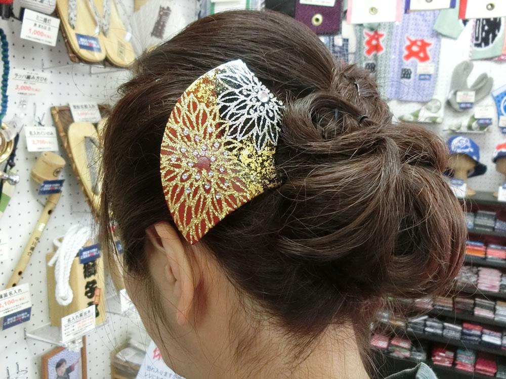 祭り ヘアスタイル かんざし ヘアアレンジ 祭りヘア 祭り女子