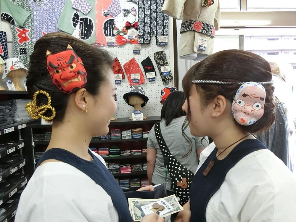 祭り女子の最新ヘアスタイル事例集