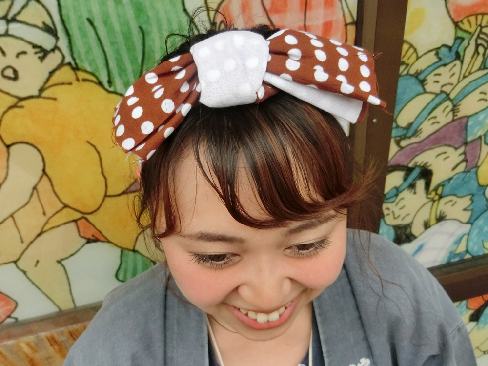 祭りヘア ヘアスタイル 髪飾り 手作り ハンドメイド