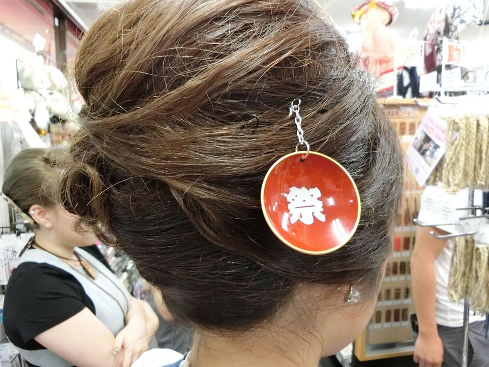 かんざし 祭り髪飾り