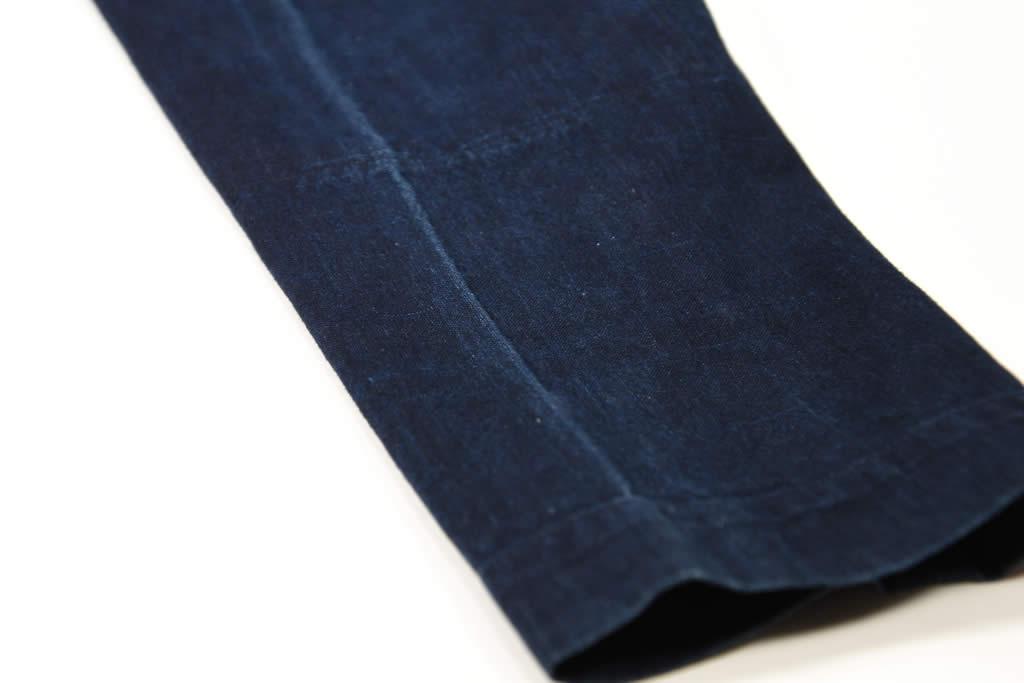 藍染め 股引き 洗い方 初回