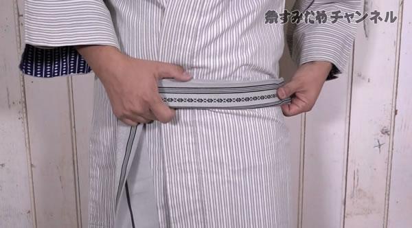 帯 片ばさみ 締め方