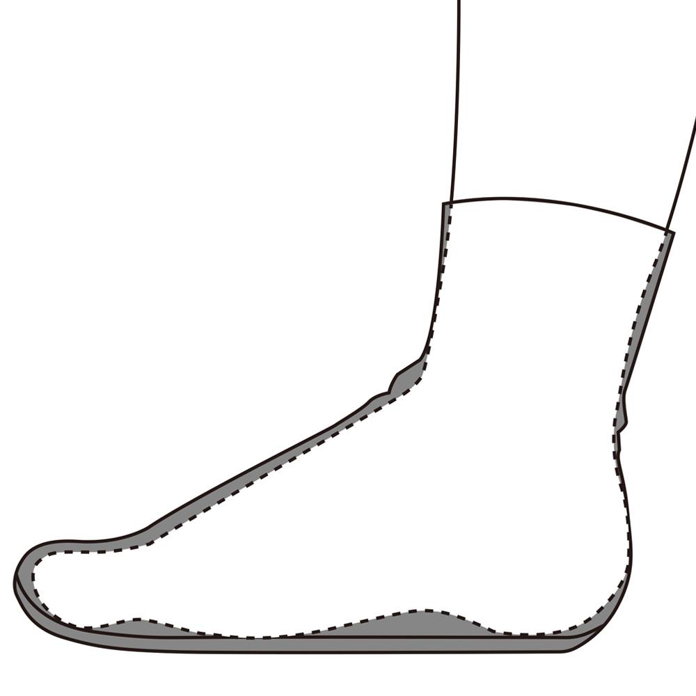 地下足袋 サイズ選び