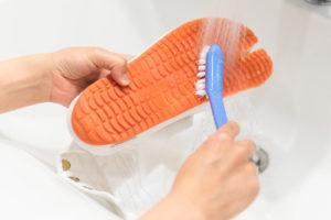 地下足袋の洗い方