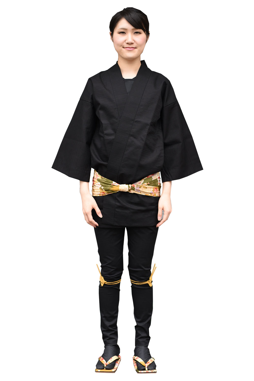 お祭り衣装カラーコーディネート講座 黒