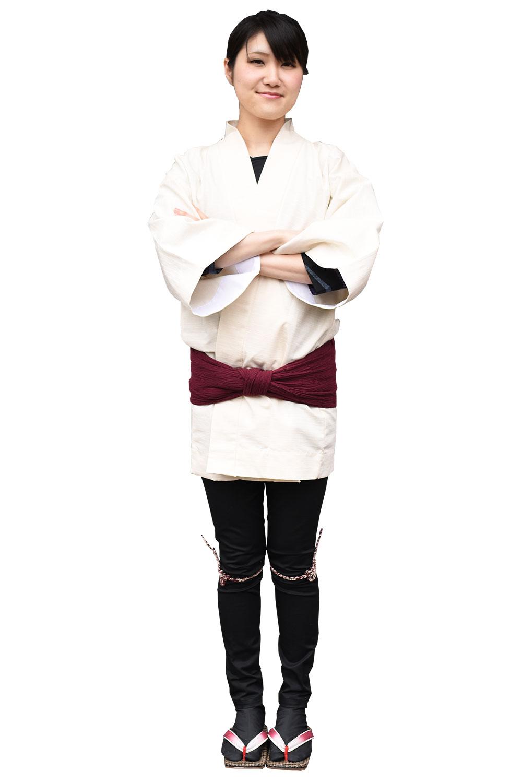 お祭り衣装 カラーコーディネート 黒