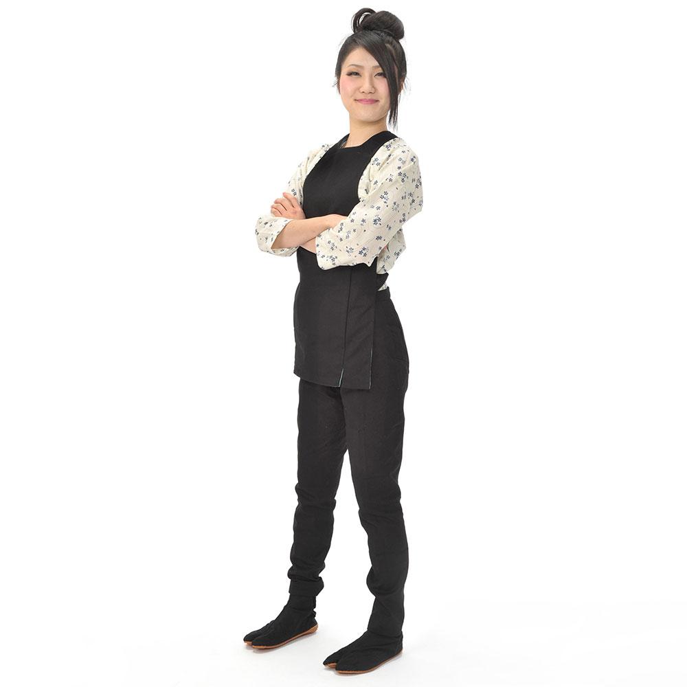 黒 カラーコーディネート お祭り衣装