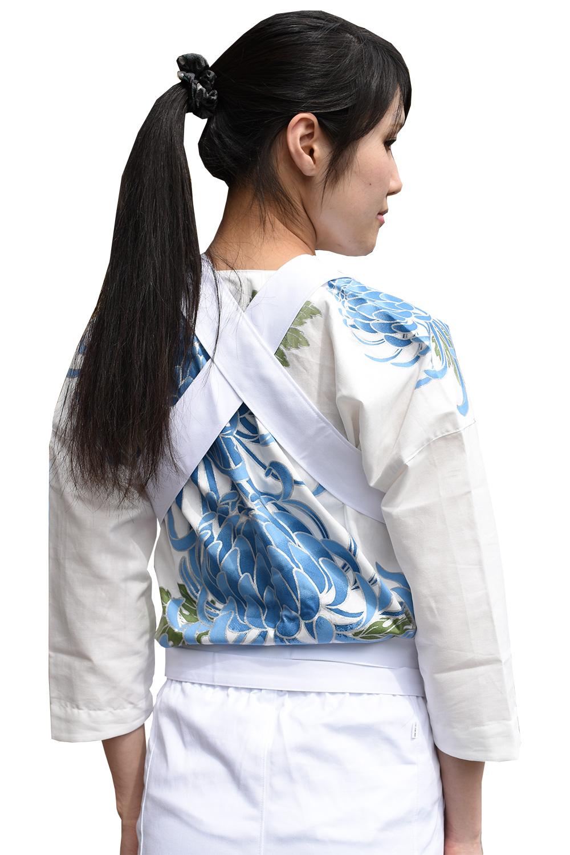 お祭り衣装 カラーコーディネート 白