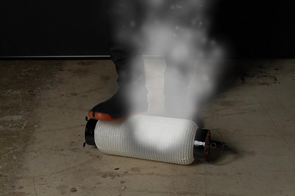 弓張提灯が燃えた時の火の消し方