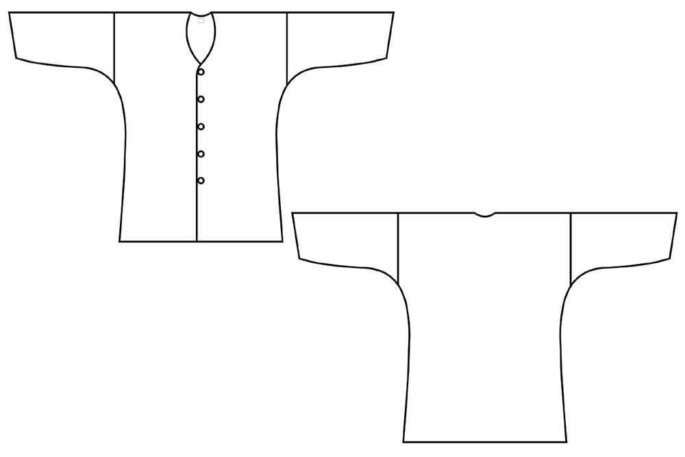 鯉口シャツ ダボシャツ オーダーメイド